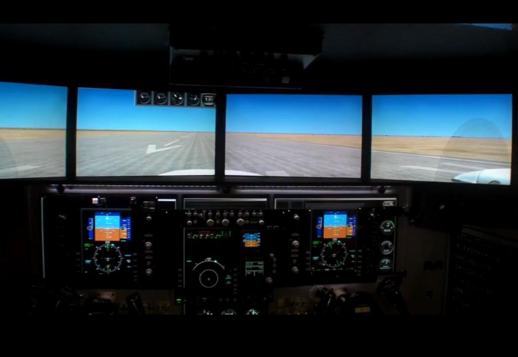 Redbird King Air 350