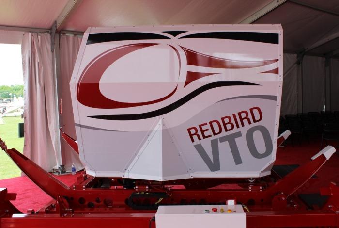 Redbird VTO at Sun 'n Fun
