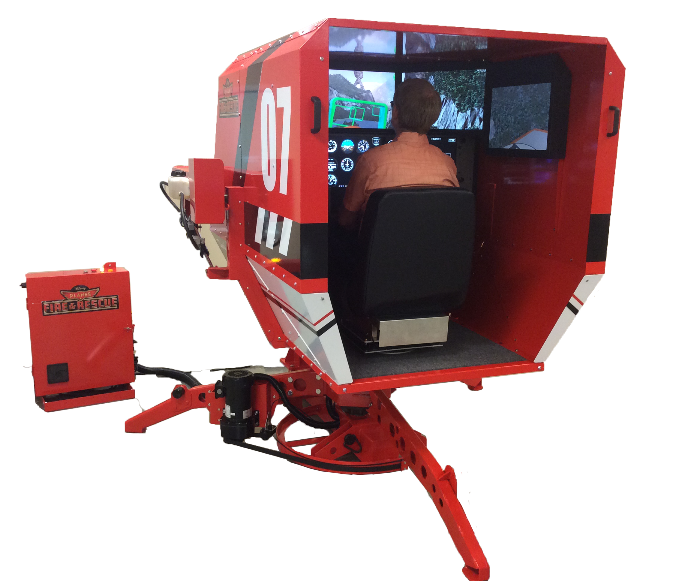 Redbird Dusty Simulator Planes: Fire & Rescue