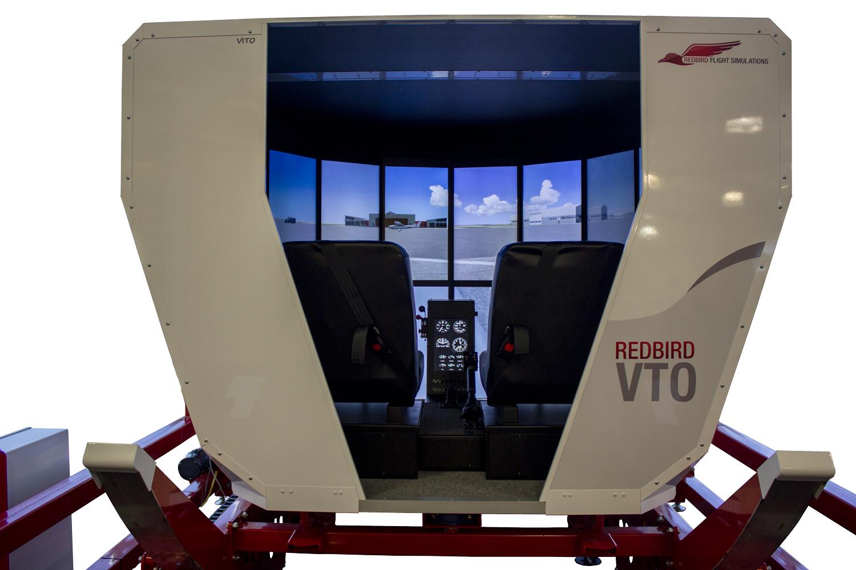 Redbird VTO Entrance Close Up