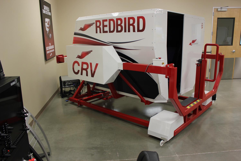 Redbird CRV Angle View