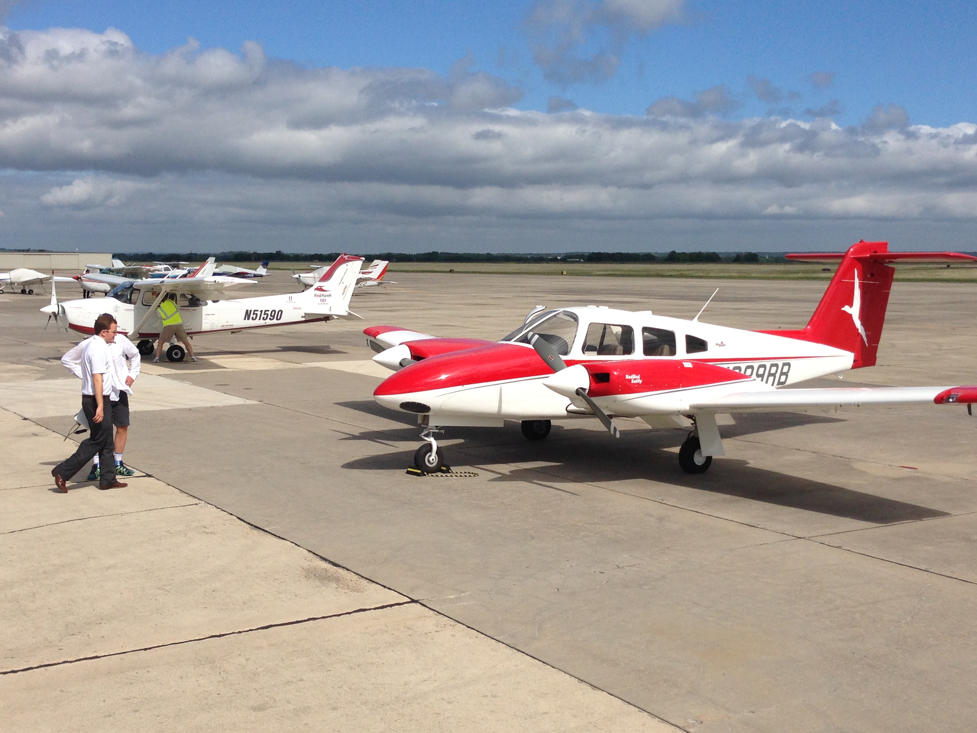 Redbird Skyport Flight Training