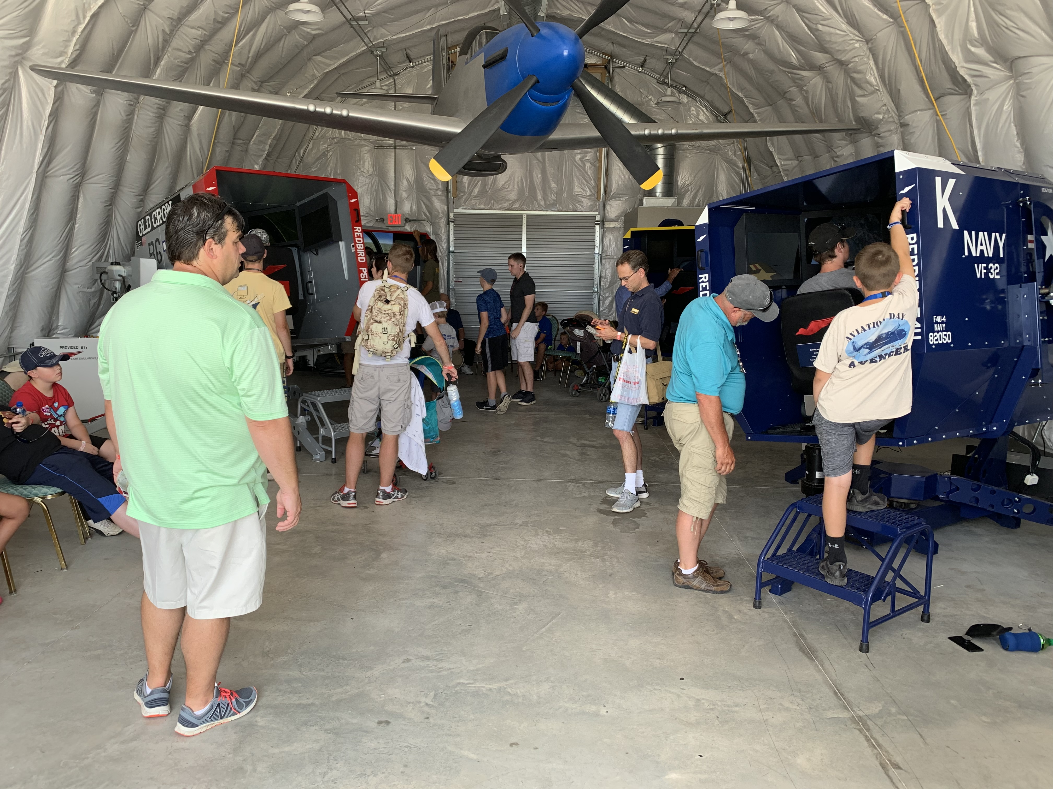 Redbird Flight and EAA Warbirds of America Partner on Two, Additional Warbird Simulators for AirVenture Oshkosh 2019