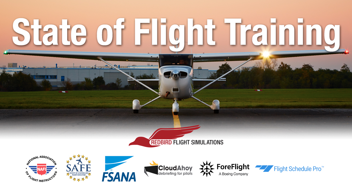 Redbird Flight Releases Report on the State of Flight Training in 2021
