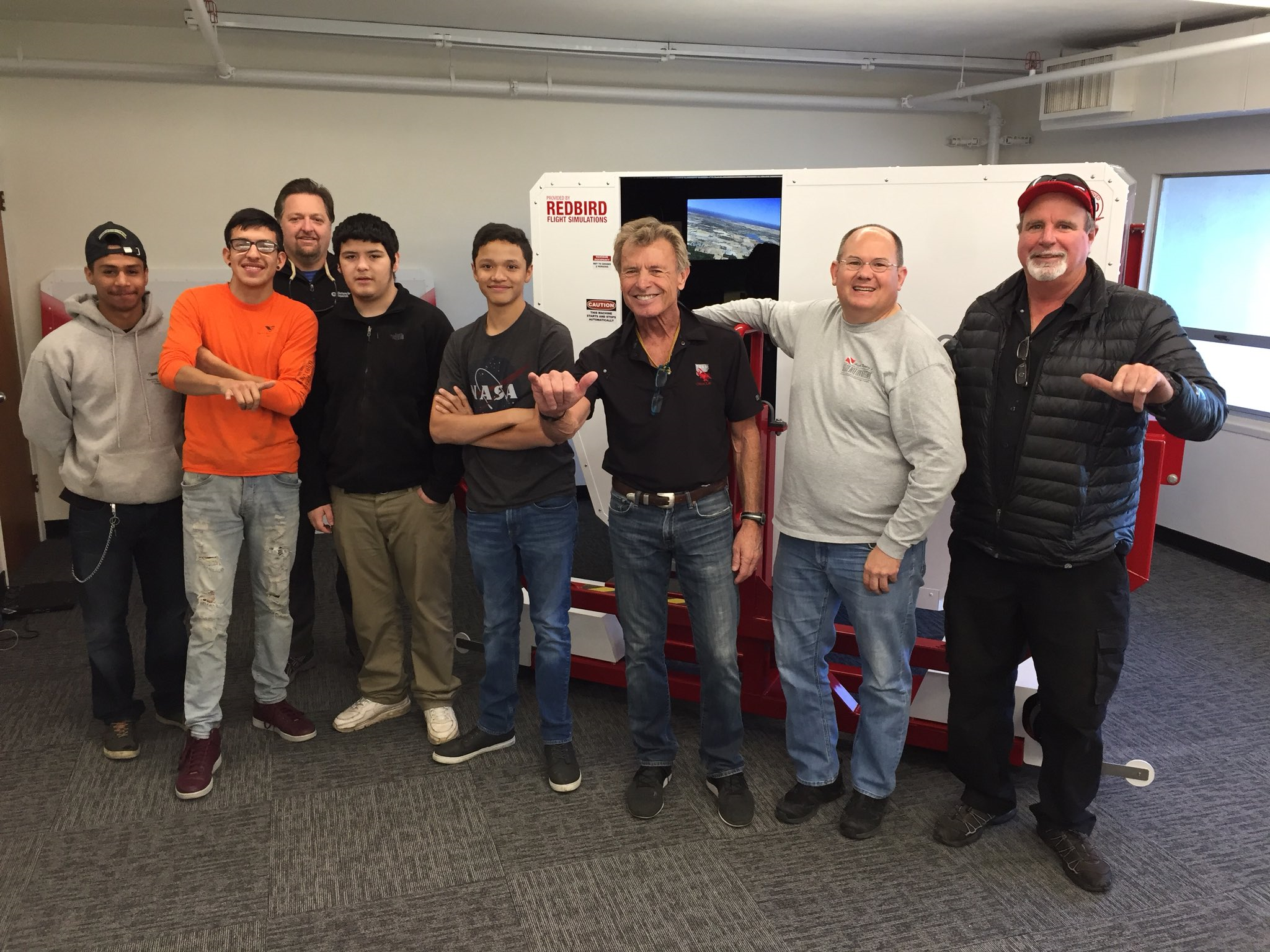 Bob Hoover Academy Enhances Flight Program With Simulation