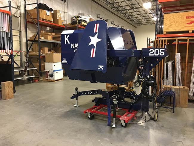 Redbird Flight and EAA Warbirds of America Unveil Corsair Simulator